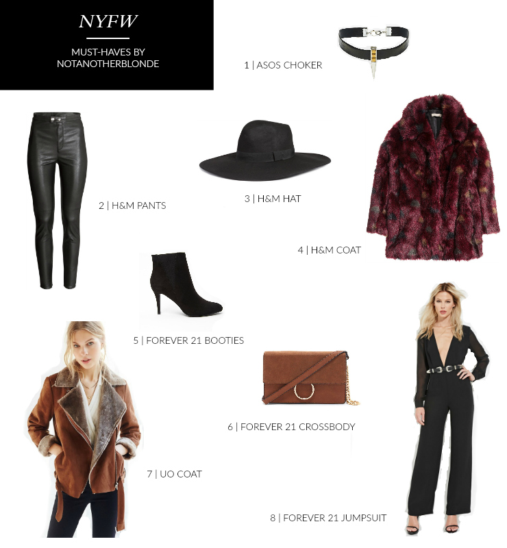 2016 nyfw must-haves