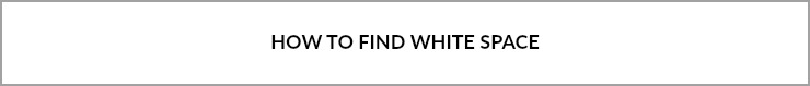 how to find white space