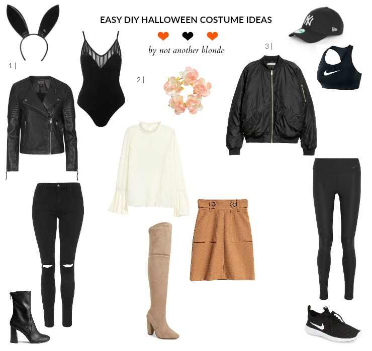 3 Easy DIY Halloween Costume Ideas - Not Another Blonde
