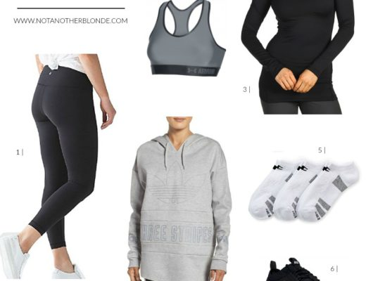 fitness blogger workout outfits