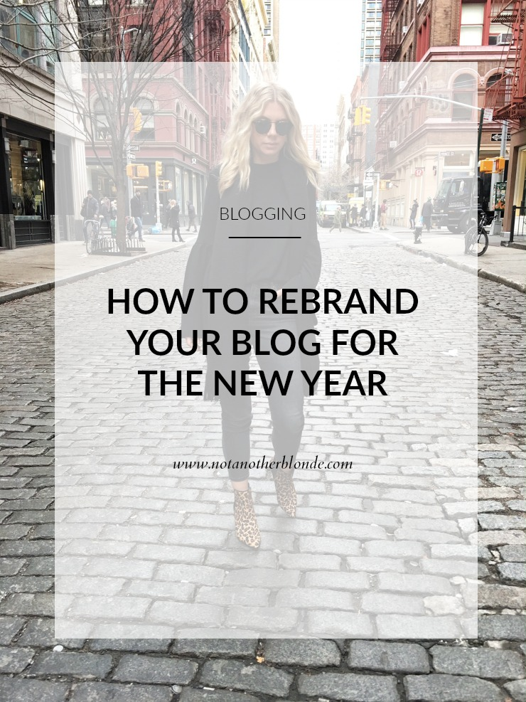 how to rebrand your blog for the new year