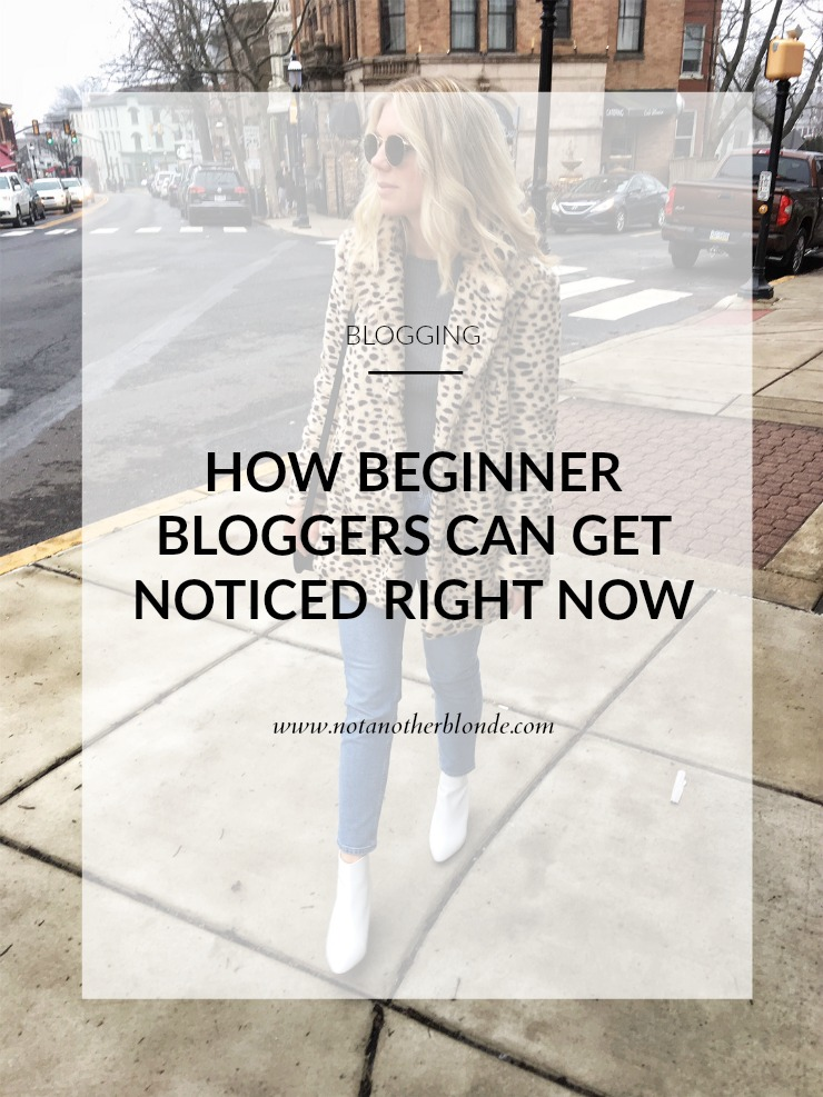 how beginner bloggers can get noticed