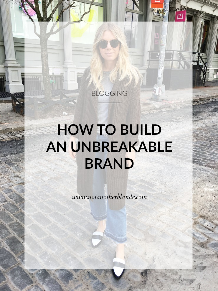 how to build an unbreakable brand