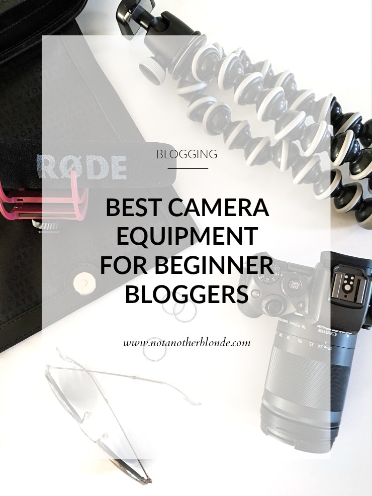 best camera equipment for beginner bloggers