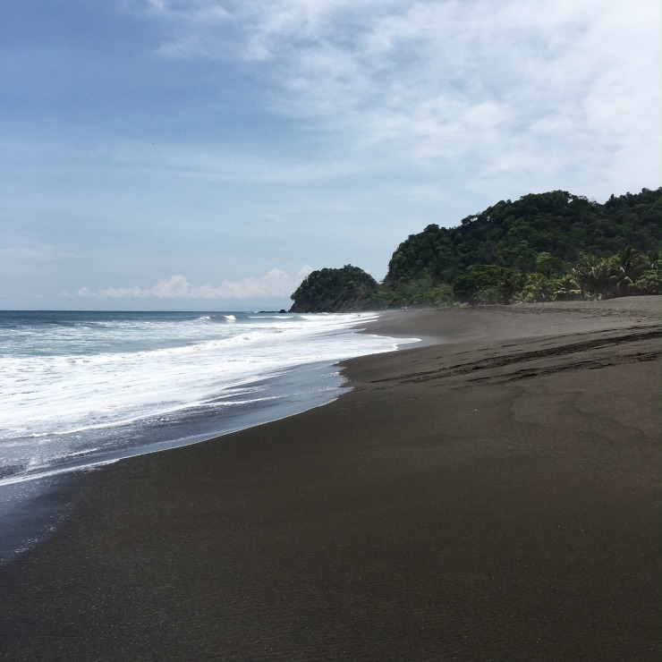 Black Sand Hermosa Beach Costa Rica