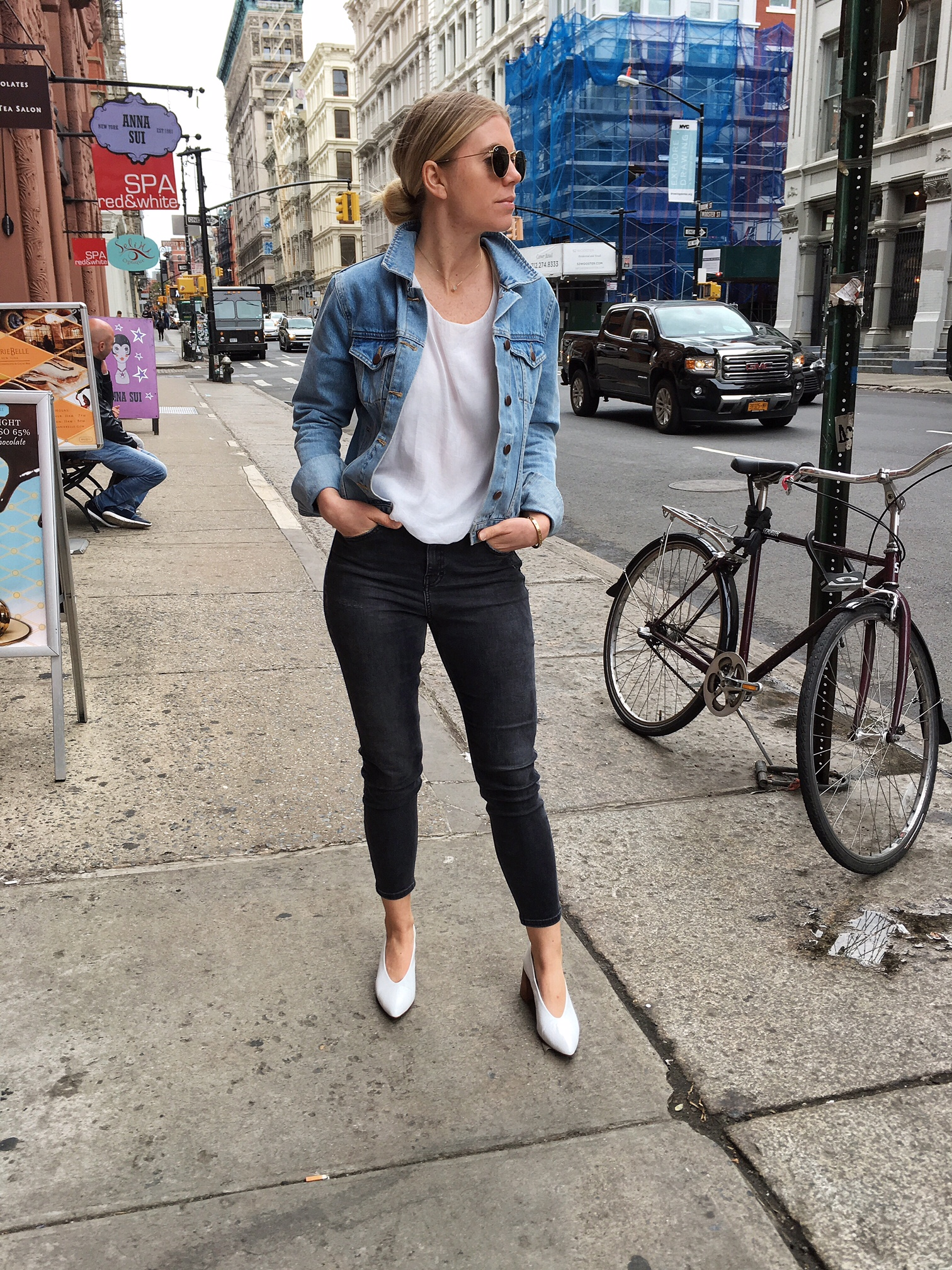 What to Wear  for Unpredictable Spring Weather - Not Another Blonde